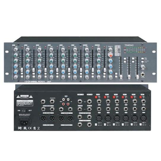TEM-M100机柜式会议调音台